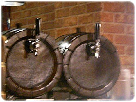 スパークリングワインの樽