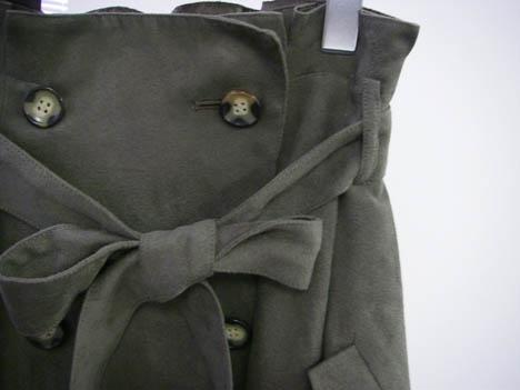 2011秋冬ダブルブレストスカート