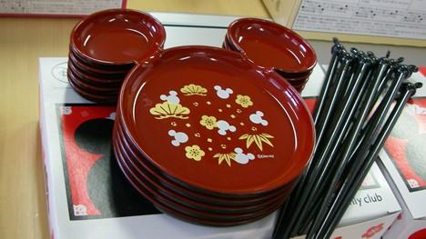 2014ディズニーお皿とお箸のセット
