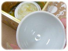 一の重陶器のフタ