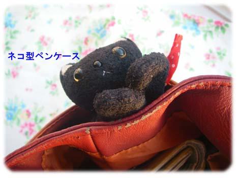 アニタのバッグポケットの横