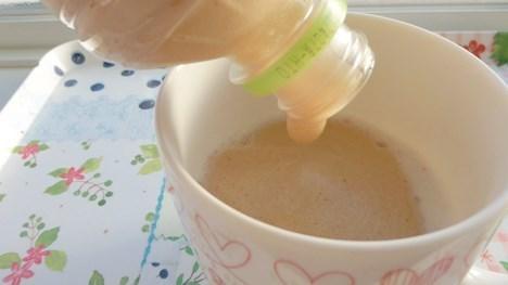 ホット泡コーヒー