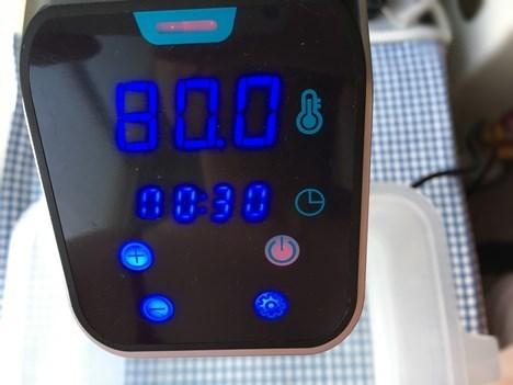 デリシェフ低温調理器