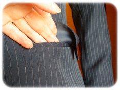 ETHIQUEスーツのポケット