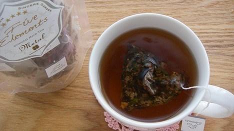 五行茶【金】