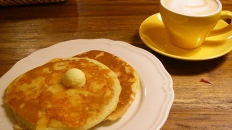 イリヤプラスカフェのチーズ・パンケーキ