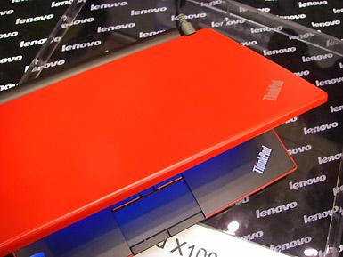 ThinkPadX100eヒートウェーブ・レッド