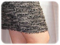 ひざたけスカート