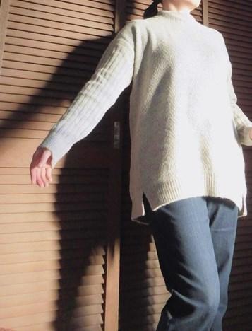 モバコレのセーター