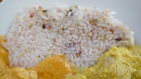 雑穀米ガレット(七彩御膳)