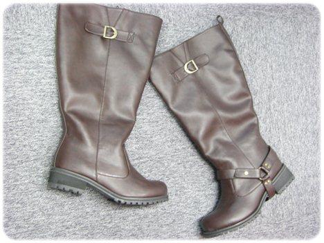 ニッセン 履き口40cmのブーツ