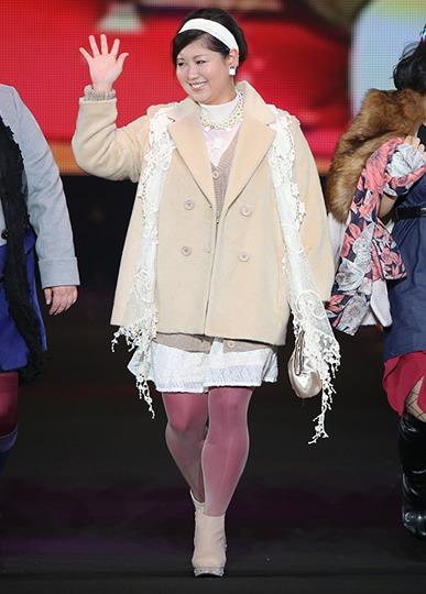 馬場園さん at 東京ガールズコレクション2014AW