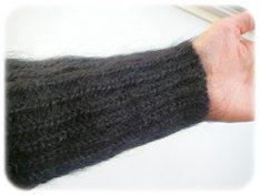 PLSTセーターの袖
