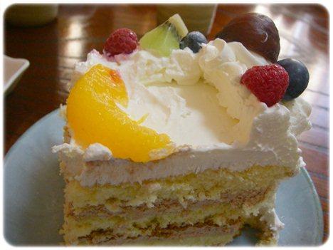 写真ケーキ 1カット