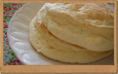 インスタントとは思えない!リコッタチーズのパンケーキ