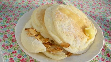 パンケーキとバナナでbillsっぽく