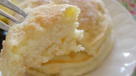 パンケーキの切り口