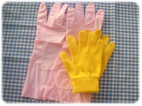家事の手袋