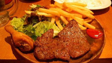 東京ブッチャーズ肉屋のプレートランチ