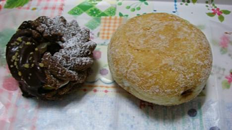 Wクリームのミスタードーナツ
