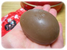 卵型のチョコレート